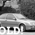WIZARD SOLD sierra cosworth