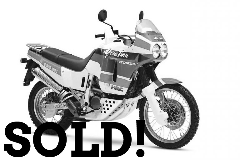 WIZARD SOLD AFRICA TWIN