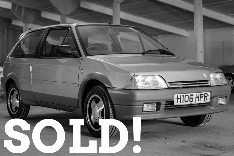 WIZARD SOLD CITROEN AX GT