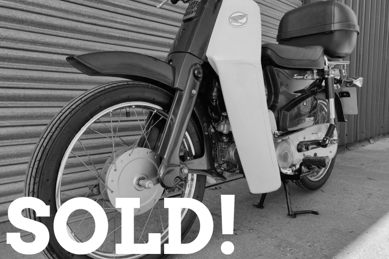 WIZARD SOLD HONDA C90