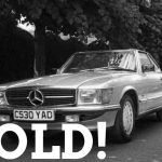 WIZARD SOLD MERCEDES R107 500SL