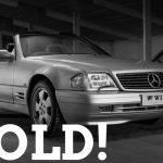 WIZARD SOLD MERCEDES R129 500SL