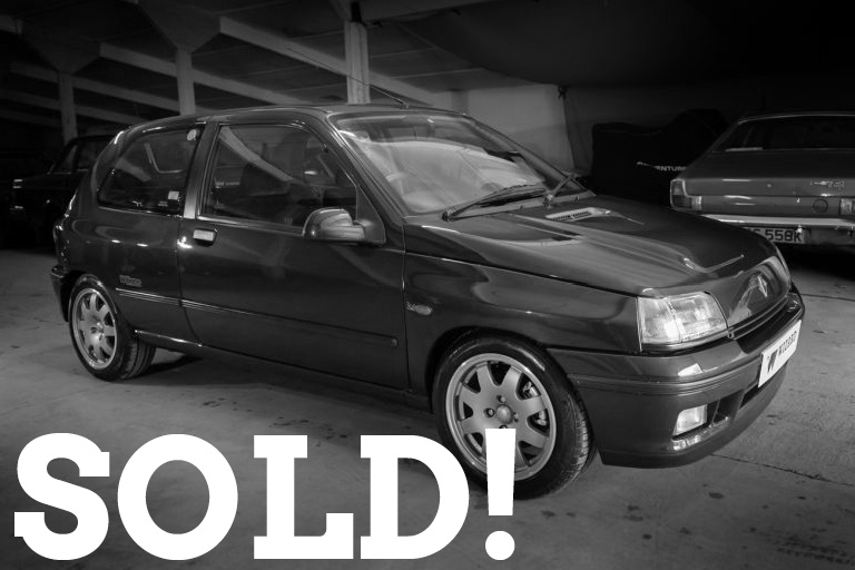 WIZARD SOLD RENAULT CLIO WILLIAMS