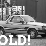 WIZARD SOLD SUBARU BRAT