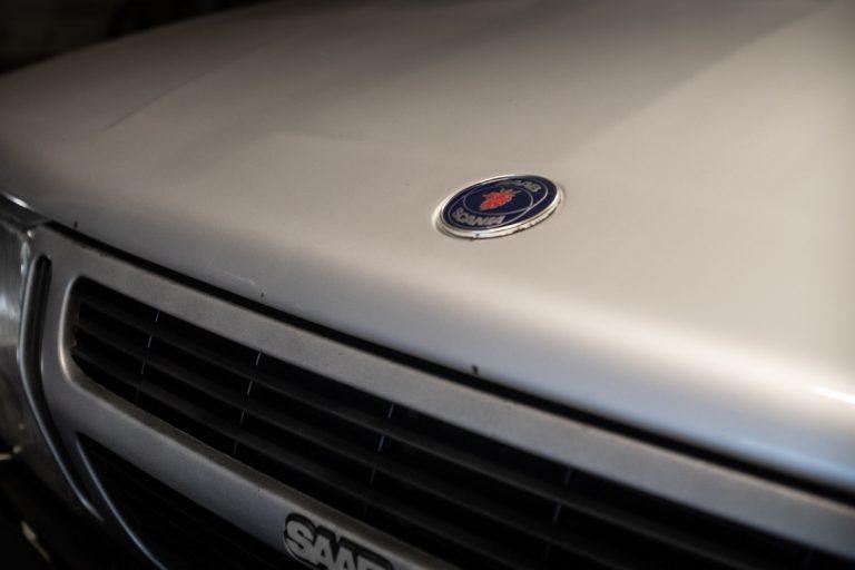 Silver Saab 10