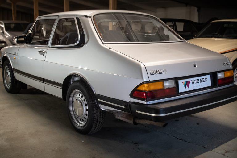 Silver Saab 23