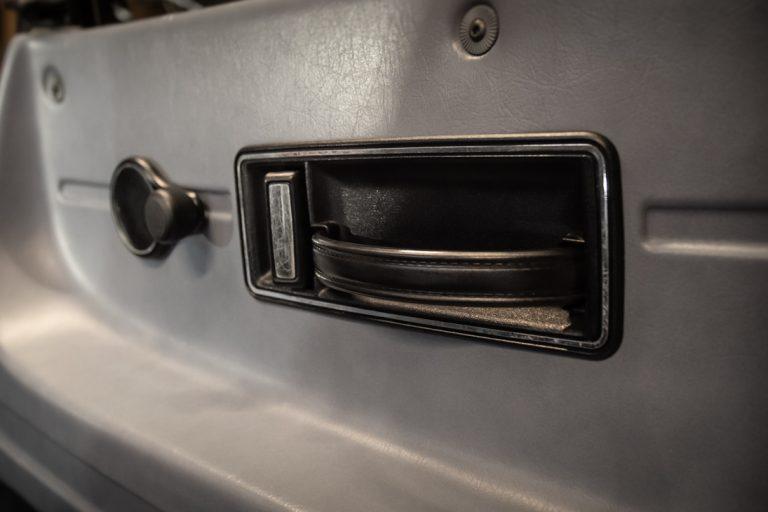 Silver Saab 36