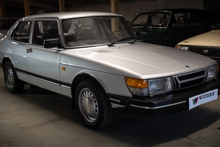 Silver Saab 6