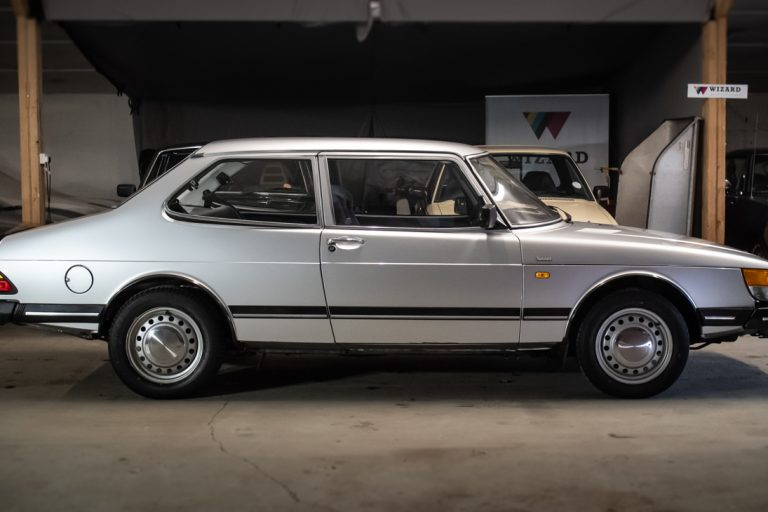 Silver Saab