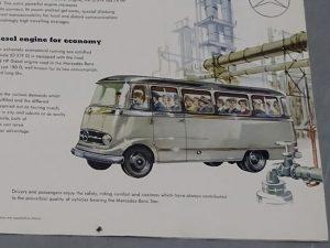 0005 1964 Mercedes Benz O319 9 Seat Mini Bus 2