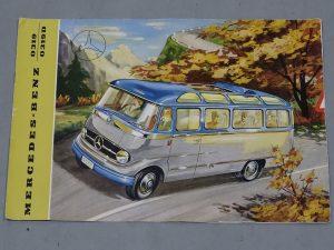 0006 1964 Mercedes Benz O319 9 Seat Mini Bus 3
