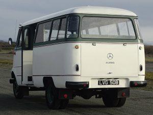 0014 1964 Mercedes Benz O319 9 Seat Mini Bus 11