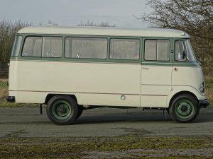 0016 1964 Mercedes Benz O319 9 Seat Mini Bus 13