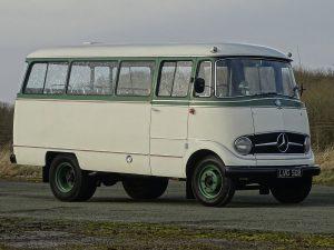 0018 1964 Mercedes Benz O319 9 Seat Mini Bus 15