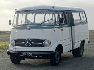 0020 1964 Mercedes Benz O319 9 Seat Mini Bus 17