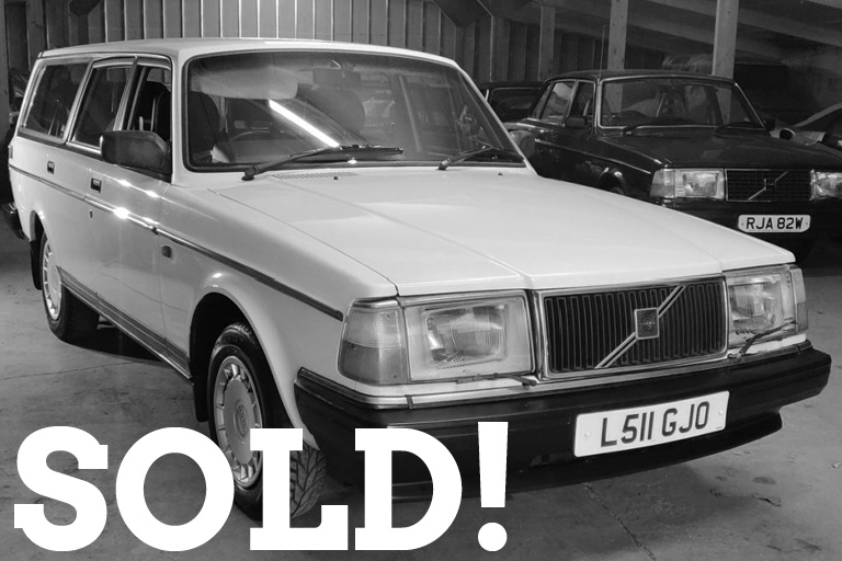 WIZARD SOLD volvo 240