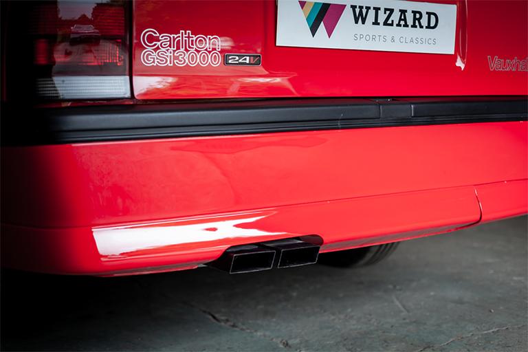 vauxhall carlton 3000gsi for sale wizard classics 0002 Vauxhall Carlton 45