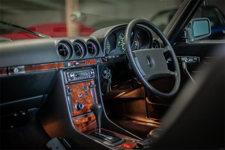 1985 mercedes benz 380sl wizard classics 0009 Mercedes SL 40