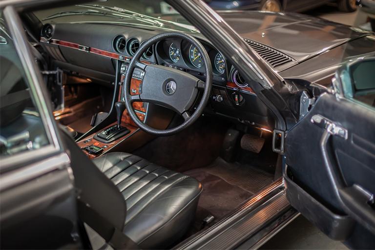 1985 mercedes benz 380sl wizard classics 0013 Mercedes SL 36