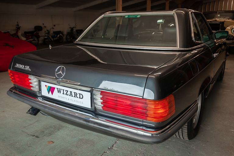 1985 mercedes benz 380sl wizard classics 0018 Mercedes SL 31