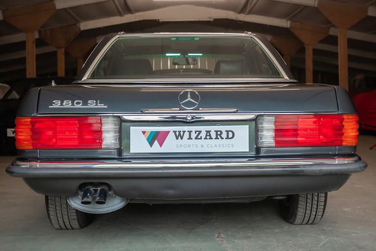 1985 mercedes benz 380sl wizard classics 0019 Mercedes SL 30
