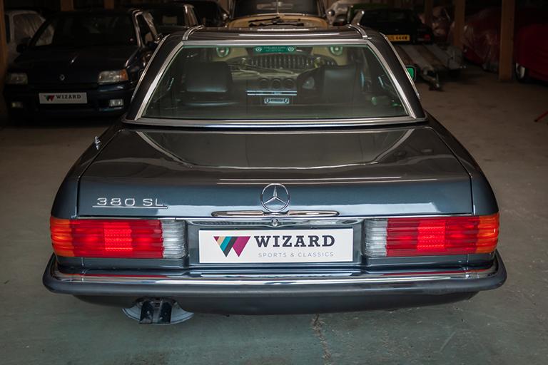 1985 mercedes benz 380sl wizard classics 0020 Mercedes SL 29