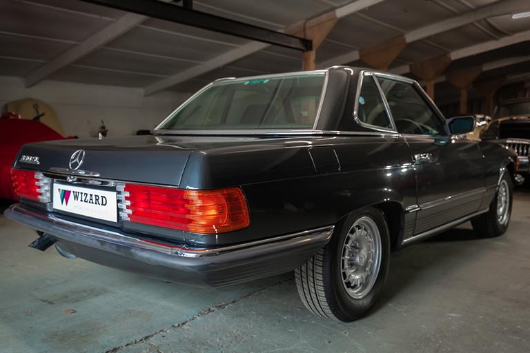1985 mercedes benz 380sl wizard classics 0021 Mercedes SL 28