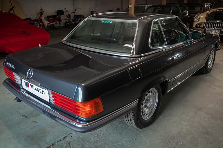 1985 mercedes benz 380sl wizard classics 0022 Mercedes SL 27