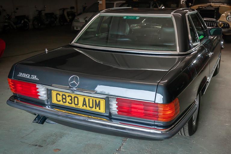 1985 mercedes benz 380sl wizard classics 0023 Mercedes SL 26