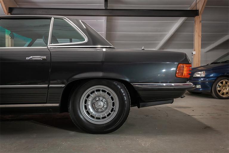 1985 mercedes benz 380sl wizard classics 0034 Mercedes SL 15