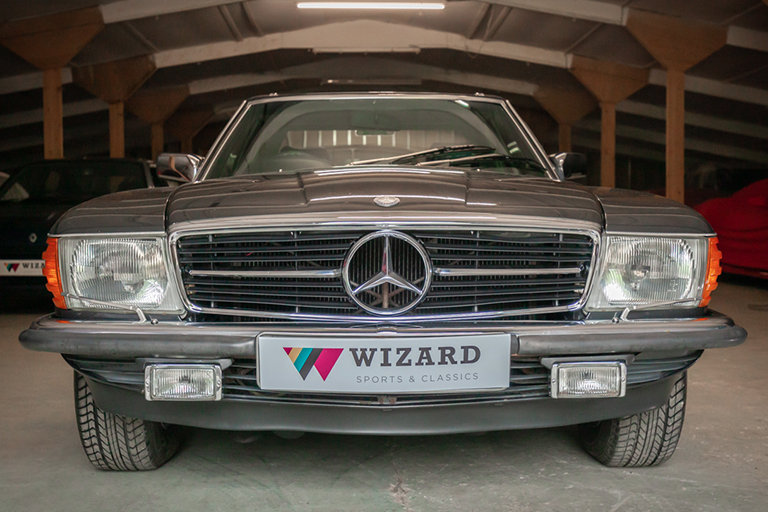 1985 mercedes benz 380sl wizard classics 0040 Mercedes SL 9