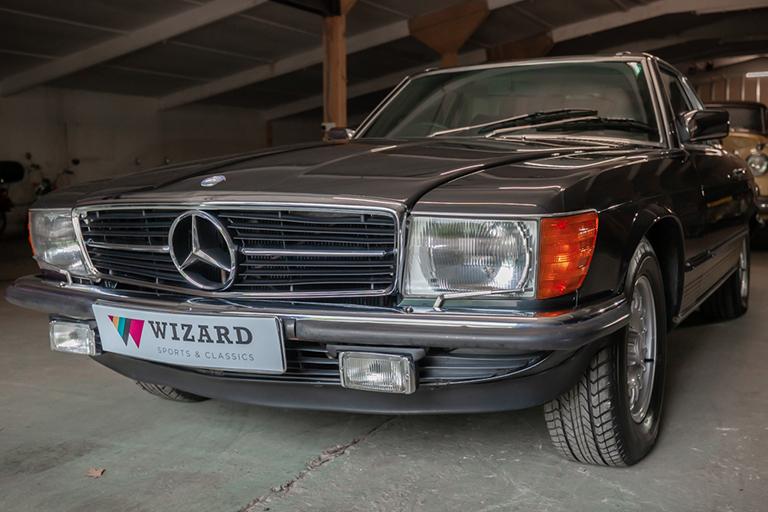 1985 mercedes benz 380sl wizard classics 0042 Mercedes SL 7