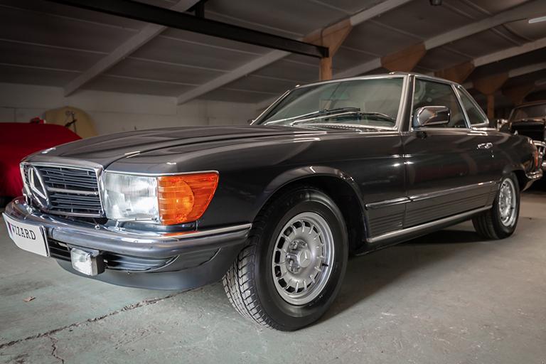 1985 mercedes benz 380sl wizard classics 0043 Mercedes SL 6