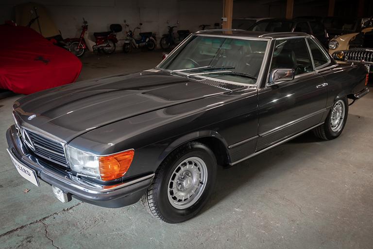 1985 mercedes benz 380sl wizard classics 0045 Mercedes SL 4