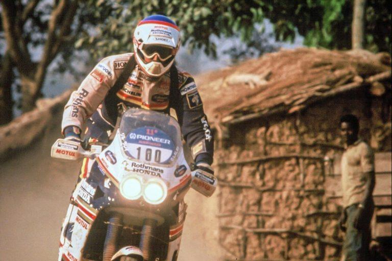 Honda NXR750 Gilles Lalay 1989