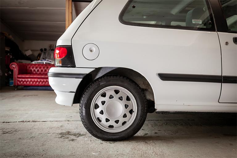 Renault Clio MK1 Auto Wizard Classics 0023 Clio 1.4 White 16