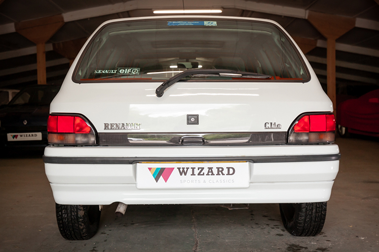 Renault Clio MK1 Auto Wizard Classics 0031 Clio 1.4 White 8