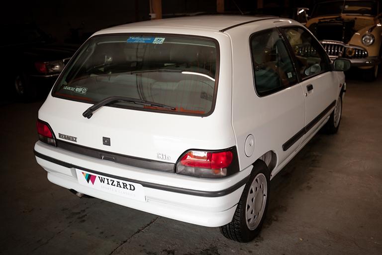 Renault Clio MK1 Auto Wizard Classics 0033 Clio 1.4 White 6