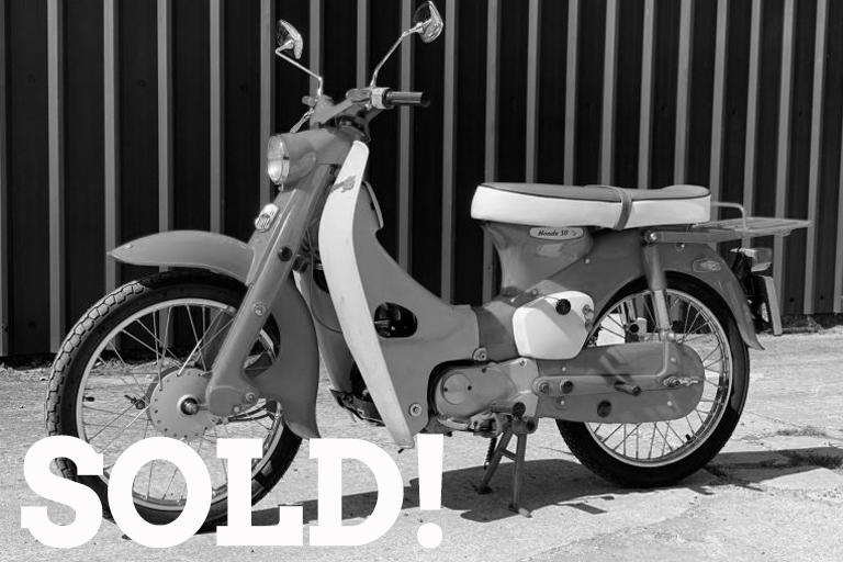 honda c100e sold 1