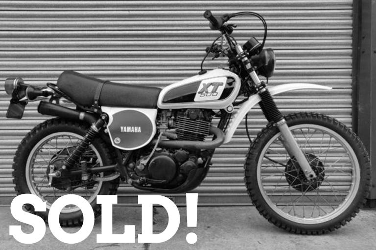 xt500 sold